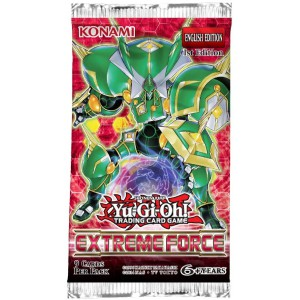 Yu-Gi-Oh! Extreme Force boosterpack