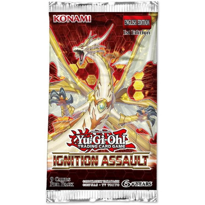Yu-Gi-Oh! Ignition Assault boosterpack