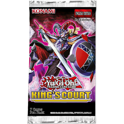 Yu-Gi-Oh! - King's Court Boosterpack