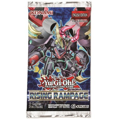 Yu-Gi-Oh! Rising Rampage boosterpack